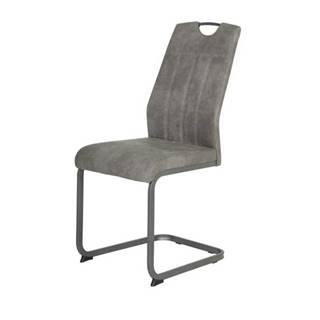 Jedálenská stolička CHRISTINA II sivá