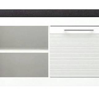 Lavica/úl.priestor na topánky FELINO 9 biela vysoký lesk