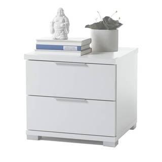 Nočný stolík KORON 2 biela
