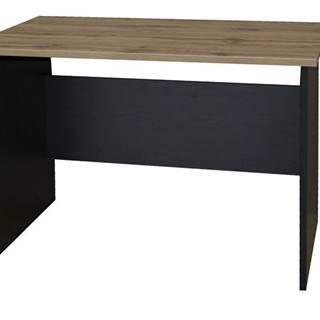 Písací stôl BÁRA SC 209 dub wotan/čierna