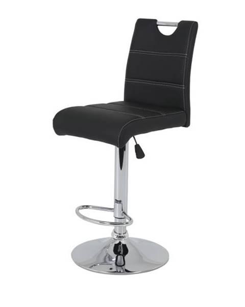 Sconto Barová stolička MIRANDA H čierna