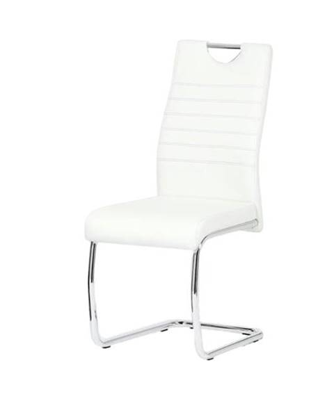 Sconto Jedálenská stolička BONNIE CAP biela