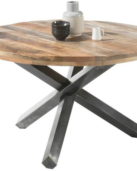 Sconto Jedálenský stôl ACE mango/antracitová