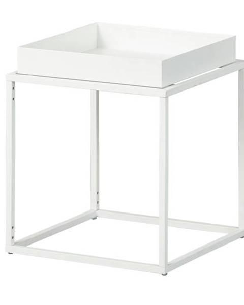 Sconto Prístavný stolík CLUB NY biela