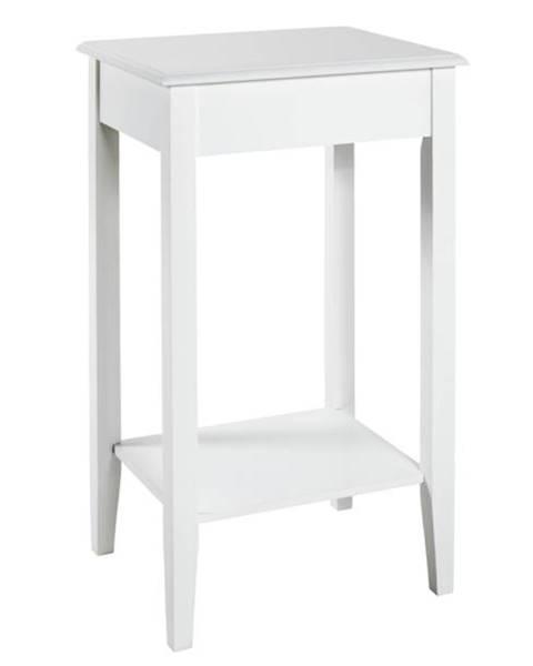 Sconto Prístavný stolík PROVENCE 2 biela