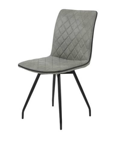 Jedálenská stolička TATJANA I S sivá