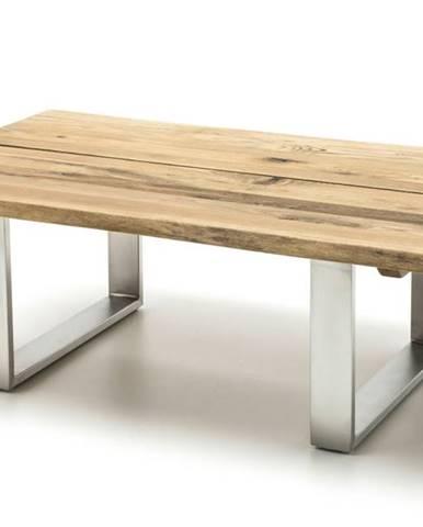 Konferenčný stolík LEVI dub/oceľ