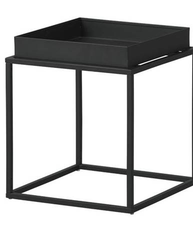 Prístavný stolík CLUB NY čierna