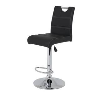 Barová stolička MIRANDA H čierna