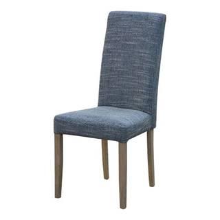 Jedálenská stolička CAPRICE 6 sivá melír