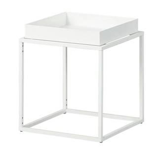 Prístavný stolík CLUB NY biela