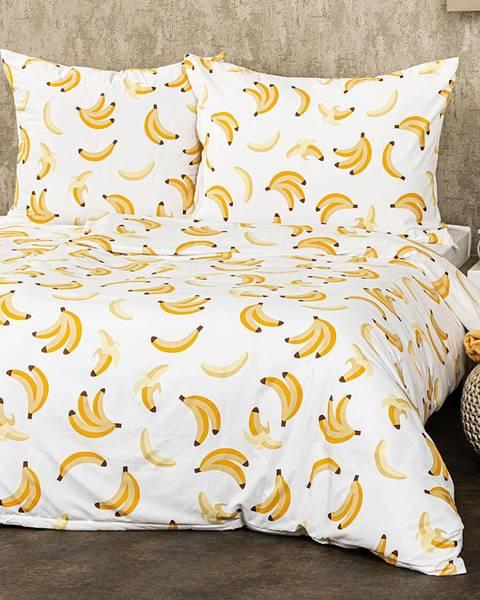 4Home 4Home Obliečky Banány micro, 140 x 200 cm, 70 x 90 cm