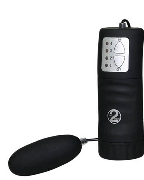 Tescoma Vibračné vajíčko s ovládaním, čierna